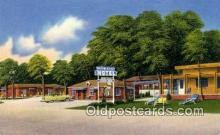 MTL001587 - Arrowhead Motel, Columbia, MO, USA Motel Hotel Postcard Post Card Old Vintage Antique