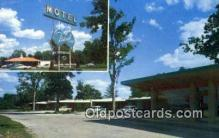 MTL001602 - Travelier Motel, Columbia, MO, USA Motel Hotel Postcard Post Card Old Vintage Antique