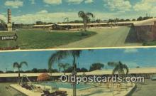 MTL001643 - Ranch House Motel, Winter Have, FL, USA Motel Hotel Postcard Post Card Old Vintage Antique