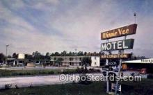 MTL001644 - Winnie Vee Motel, Yulee, FL, USA Motel Hotel Postcard Post Card Old Vintage Antique