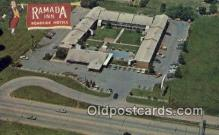 MTL001663 - Ramada Inn, Springfield, MO, USA Motel Hotel Postcard Post Card Old Vintage Antique