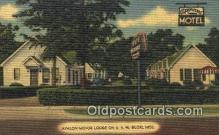MTL001669 - Avalon Motor Lodge, Biloxi, MS, USA Motel Hotel Postcard Post Card Old Vintage Antique