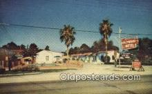 MTL001670 - Hollywood Motel, USA Motel Hotel Postcard Post Card Old Vintage Antique