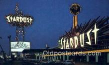 MTL001690 - Stardust Hotel, Las Vegas, NV, USA Motel Hotel Postcard Post Card Old Vintage Antique