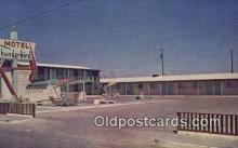 MTL001702 - Thunderbird Motel, Marfa, TX, USA Motel Hotel Postcard Post Card Old Vintage Antique