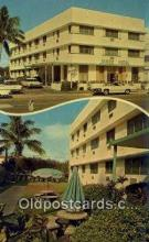 MTL001722 - James Hotel, Miami Beach, FL, USA Motel Hotel Postcard Post Card Old Vintage Antique