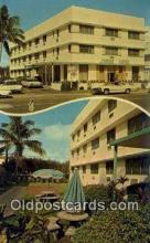 MTL001723 - James Hotel, Miami Beach, FL, USA Motel Hotel Postcard Post Card Old Vintage Antique