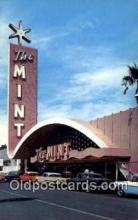 MTL001743 - The Mint, Las Vegas, NV, USA Motel Hotel Postcard Post Card Old Vintage Antique