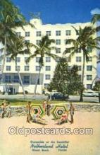 MTL001756 - Netherland Hotel, Miami Beach, FL, USA Motel Hotel Postcard Post Card Old Vintage Antique