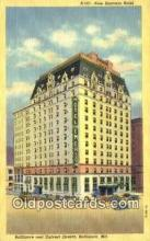 MTL001764 - New Emerson Hotel, Baltimore, MD, USA Motel Hotel Postcard Post Card Old Vintage Antique