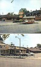 MTL001774 - Towne Manor Motel, Canton, OH, USA Motel Hotel Postcard Post Card Old Vintage Antique