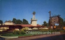 MTL001782 - Hotel El Rancho, Fresno, CA, USA Motel Hotel Postcard Post Card Old Vintage Antique