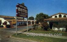 MTL001784 - Gateway Motel, Merced, CA, USA Motel Hotel Postcard Post Card Old Vintage Antique