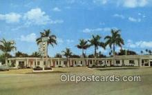 MTL001785 - Ok Chobee Motel, Clewiston, PL, USA Motel Hotel Postcard Post Card Old Vintage Antique