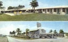 MTL001787 - White Heron Motel, Homestead, FL, USA Motel Hotel Postcard Post Card Old Vintage Antique