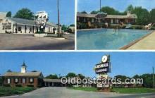 MTL001791 - Chesmotel Lodge, Hopkinsville, KY, USA Motel Hotel Postcard Post Card Old Vintage Antique