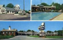 MTL001793 - Chesmotel Lodge, Hopkinsville, KY, USA Motel Hotel Postcard Post Card Old Vintage Antique