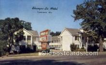 MTL001800 - Shangri La Motel, Tuscaloosa, AL, USA Motel Hotel Postcard Post Card Old Vintage Antique