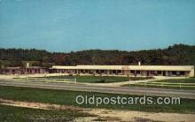 MTL001804 - El Patio Motel, Spencer, IN, USA Motel Hotel Postcard Post Card Old Vintage Antique