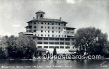 MTL001808 - Broadmoor Hotel, Colorado Springs, CO, USA Motel Hotel Postcard Post Card Old Vintage Antique