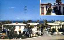 MTL001817 - Surf Ocean Front Cottages, Daytona Beach, FL, USA Motel Hotel Postcard Post Card Old Vintage Antique
