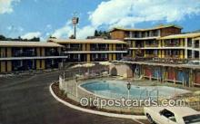 MTL001821 - Ponderosa Inn, Redding, CA, USA Motel Hotel Postcard Post Card Old Vintage Antique