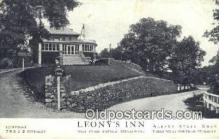 MTL001834 - Leony's Inn, Peekskill, USA Motel Hotel Postcard Post Card Old Vintage Antique