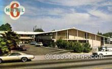 MTL001836 - Motel 6, Bakersfield, CA, USA Motel Hotel Postcard Post Card Old Vintage Antique