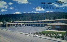 MTL001838 - Williams Travelodge, Williams, AZ, USA Motel Hotel Postcard Post Card Old Vintage Antique