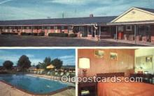 MTL001840 - Wilsonian Motel, Greenwood, IN, USA Motel Hotel Postcard Post Card Old Vintage Antique
