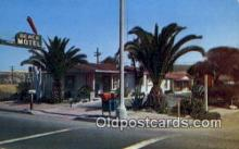 MTL001847 - Beach Motel, San Clemete, CA, USA Motel Hotel Postcard Post Card Old Vintage Antique