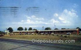 MTL001858 - Crestivew Motel, Charlotte, MI, USA Motel Hotel Postcard Post Card Old Vintage Antique