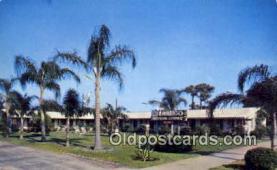 MTL001862 - Flamingo Motor Court, St. Petersburg, FL, USA Motel Hotel Postcard Post Card Old Vintage Antique