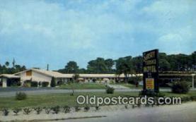 MTL001863 - Sunset Terrace Motel, Sarasota, FL, USA Motel Hotel Postcard Post Card Old Vintage Antique