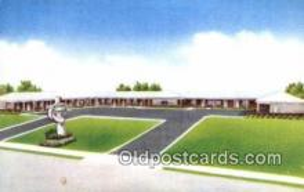 MTL001864 - Town O Tel Motor Court, Princeton, WV, USA Motel Hotel Postcard Post Card Old Vintage Antique