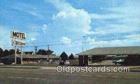 MTL001865 - Hilton Motel, Crestview, FL, USA Motel Hotel Postcard Post Card Old Vintage Antique