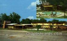MTL001869 - Caravan Motel, St. Augustine, FL, USA Motel Hotel Postcard Post Card Old Vintage Antique