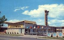 MTL001880 - Imperial 400 Motel 600, Belleville, IL, USA Motel Hotel Postcard Post Card Old Vintage Antique