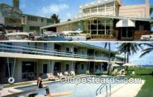 MTL001881 - Sea Islee Apt. Motel, ,Pompano Beach, FL, USA Motel Hotel Postcard Post Card Old Vintage Antique
