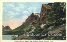 MTL001891 - Glacier National Park, USA Motel Hotel Postcard Post Card Old Vintage Antique