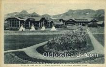 MTL001893 - Glacier Park Hotel, USA Motel Hotel Postcard Post Card Old Vintage Antique