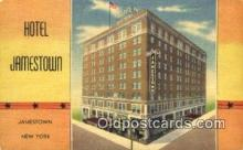 MTL001897 - Hotel Jamestown, Jamestown, NY, USA Motel Hotel Postcard Post Card Old Vintage Antique