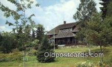 MTL001899 - Saddleback Lake Lodge, Rangeley, ME, USA Motel Hotel Postcard Post Card Old Vintage Antique