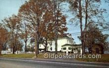 MTL001900 - Peacock Inn, Mayville, NY, USA Motel Hotel Postcard Post Card Old Vintage Antique
