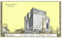 MTL001904 - Hotel Statler, Buffalo, USA Motel Hotel Postcard Post Card Old Vintage Antique
