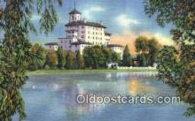 MTL001908 - Broadmoor Hotel, Colorado Springs, CO, USA Motel Hotel Postcard Post Card Old Vintage Antique