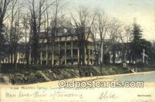 MTL001913 - Mountain Springs Summer Resort, Ephrata, PA, USA Motel Hotel Postcard Post Card Old Vintage Antique
