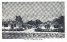 MTL001928 - Moray Court Cottages, St. Petersburg, FL, USA Motel Hotel Postcard Post Card Old Vintage Antique