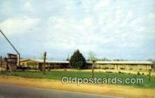 MTL001933 - Owen Motel, De Funiak Springs, FL, USA Motel Hotel Postcard Post Card Old Vintage Antique
