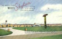 MTL001934 - Motel Skyliner, Concordia, KS, USA Motel Hotel Postcard Post Card Old Vintage Antique